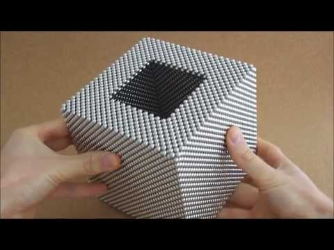Hollow Diagonal Cube (Zen Magnets)