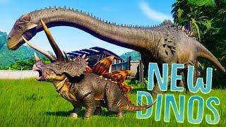 hybrid dinosaurs in jurassic world evolution - 免费在线视频