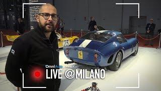 Ferrari250GTO,lautopiùcostosadellastoria|MilanoAutoClassica2017