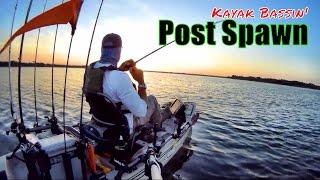 2017 KATS Kayak Anglers Tournament Series on Coleto Creek. Kayak bass fishing tournament No. 3 2017