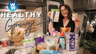 WEEKLY WW GROCERY HAUL FOR WEIGHT LOSS FROM WALMART