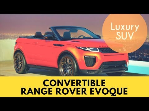 Convertible Range Rover Evoque First Look