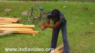 Carpenters and carpentry in Assam