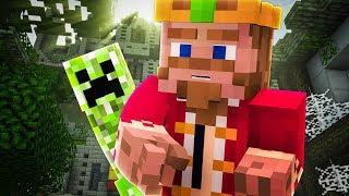 Kadr z teledysku Upadłe królestwo tekst piosenki SzymeQ Minecraft
