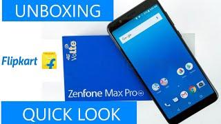 Unboxing & Quick look of Asus Zenfone Max Pro M1