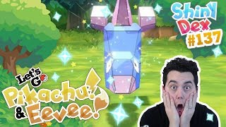 SUPER RARE SHINY PORYGON in POKEMON LETS GO PIKACHU AND EEVEE!