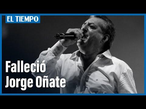 Falleció Jorge Oñate En Medellín... Jorge Oñate
