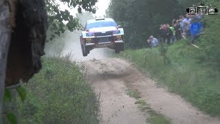 Rally Elektrenai 2018 Jumps, Actions, Mistakes, Max Attack