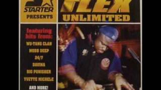 DJ FUNKMASTER FLEX  mixing CANIBUS unknown track HOT 97 in 1996