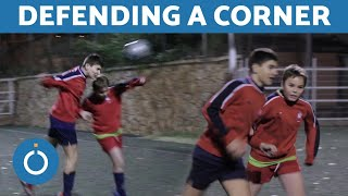 How to Defend a CORNER in Football - Advice for Defenders