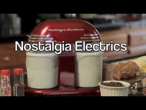 , Nostalgia ICMW200DBL 4 quart double Flavor Ice Cream Maker