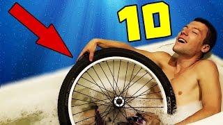10 НЕВЕРОЯТНЫХ ЛАЙФХАКОВ С ВЕЛОСИПЕДОМ!
