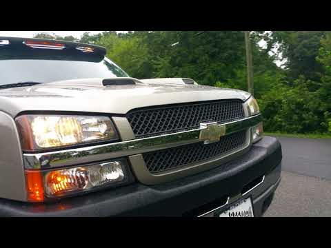 Lifted 2003 Chevrolet Silverado 3500 8.1l 496 BBC Cat-eye Dually