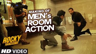Making of Men's Room Action - Video - Rocky Handsome