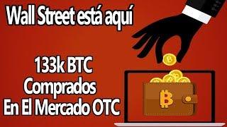 ✅133k Bitcoin comprados en el Mercado OTC Por INVERSORES INSTITUCIONALES.