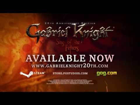 Gabriel Knight: Sins of the Fathers 20th Anniversary Edition Trailer thumbnail