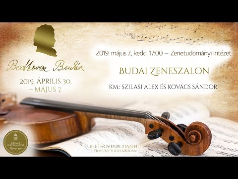 Beethoven Budán 2019 - Budai Zeneszalon - video preview image