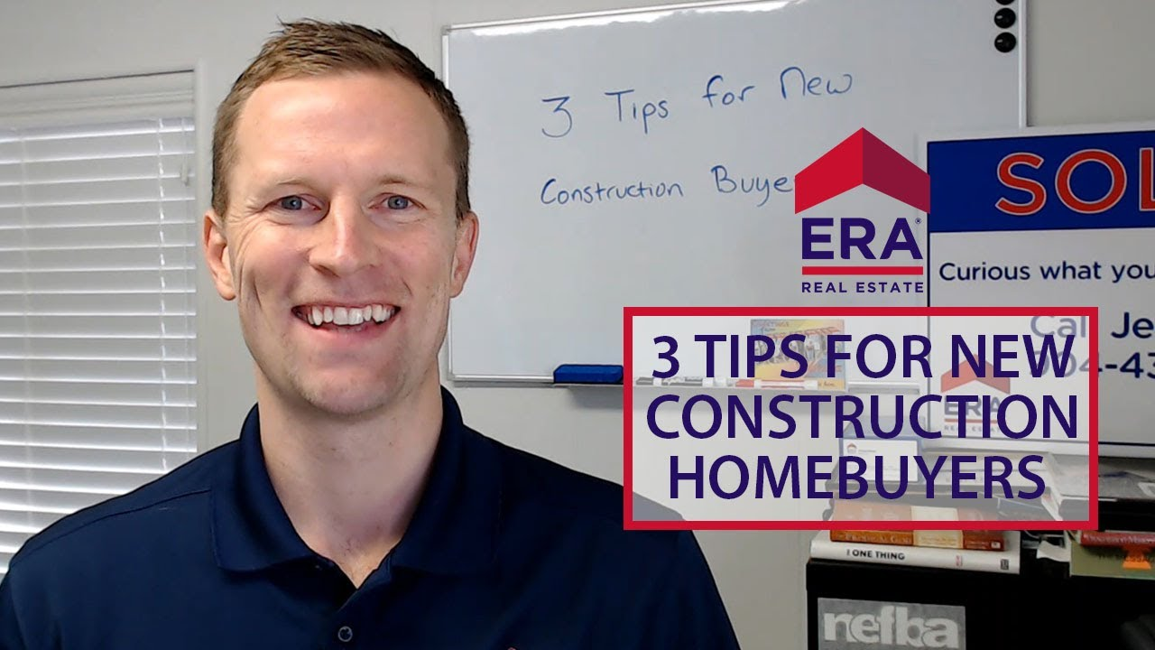 These 3 Tips Will Help You With Your New Construction Home Purchase