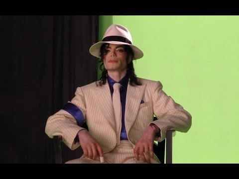 Michael Jackson - Smooth Criminal - This is it (behind the scenes)