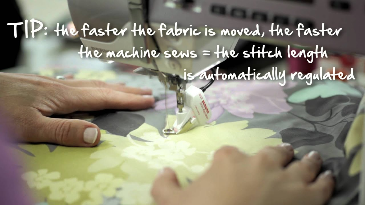 7/10 BERNINA 530 and 550 QE: free motion quilting with the BERNINA Stitch Regulator