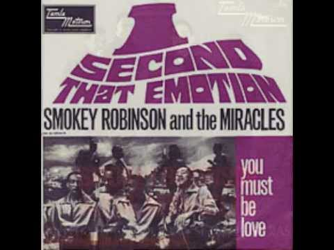 I Second That Emotion (1967) (Song) by Smokey Robinson & The Miracles