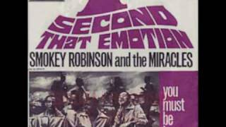 """I Second That Emotion"" by Smokey Robinson  The Miracles"