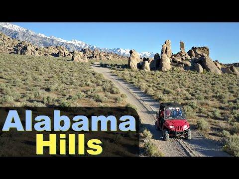 Exploring the Alabama Hills  ~ RV & ATV LIFE