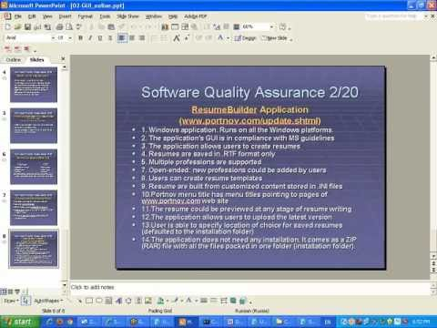 Software Testing Online: GUI Testing Webinar by Mikhail Portnov