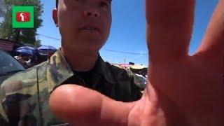 Защитники Насвай ? Отрава и нападение контроллера ! Базар в Алматы Казахстан