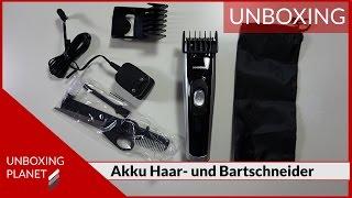 Unboxing Akku Haar-  und Bartschneider - Unboxing Planet