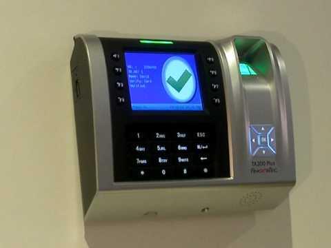 Fingerprint Time Clock - Fingertec TA200