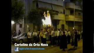 preview picture of video 'Fiero di essere di Orta Nova - Madonna del Carmine'