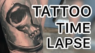 TATTOO TIME LAPSE - Black And Grey
