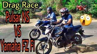 Drag Race | New Pulsar NS VS New Yamaha FZ FI | Racing Series | Xtreme RACE | Kevin Parekh
