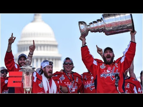 4d706518edc  FULL  Alex Ovechkin and Washington Capitals celebrate 2018 Stanley Cup  championship