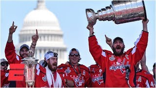 [FULL] Alex Ovechkin and Washington Capitals celebrate 2018 Stanley Cup championship   ESPN