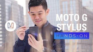 Motorola Moto G Stylus Hands-on