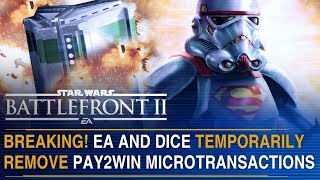 BREAKING! EA Remove Pay To Win Microtransactions!   Battlefront Update