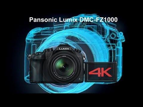 Panasonic Lumix DMC FZ1000 - 4K Video & Superzoom Digitalkamera