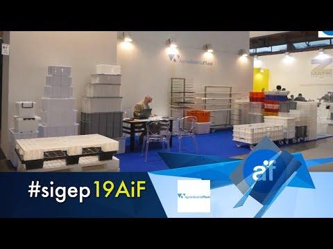 Agrindustria Plast a Sigep 2019 - produzione contenitori per l'arte bianca
