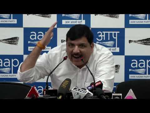 दिल्ली के अंदर भारतीय जनता पार्टी चुनाव के परिणाम आने से पहले ही अपनी हार मान चुकी है: संजय सिंह