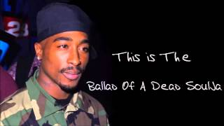 NEW LEAK! 2Pac - Ballad Of A Dead Soulja (Unreleased Johnny J Remix)