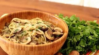 מתכון טעים ופשוט להכנה פסטה פטריות ובצל