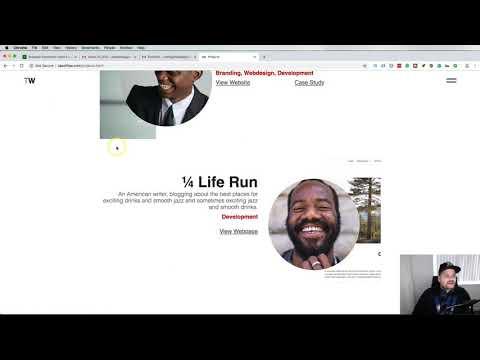 Web Developer Portfolio Review from London