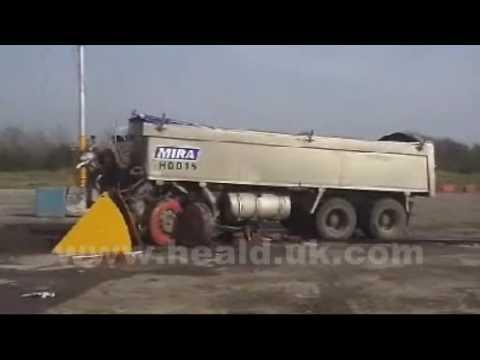 Test 30-tonowej ciężarówki