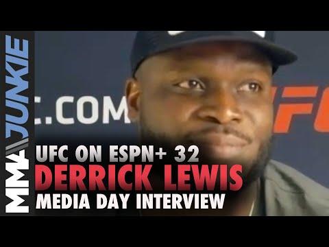UFC on ESPN+ 32: Derrick Lewis virtual media day