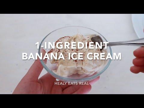 Video 1-Ingredient Banana Ice Cream Recipe (Paleo & Vegan)
