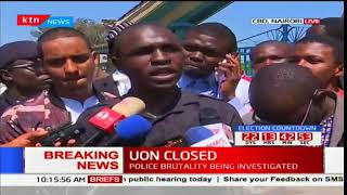 Why University of Nairobi students want Professor Mbithi out