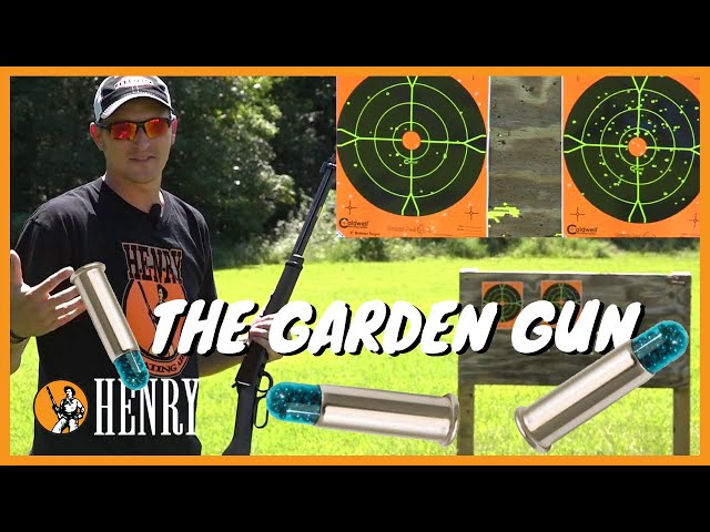 The Henry Garden Gun - A Smoothbore .22