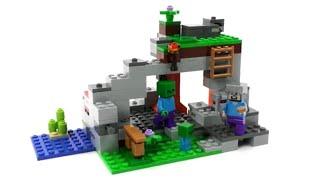 LEGO Minecraft Set Das Hexenhaus Unboxing Review - Minecraft hexenhauser